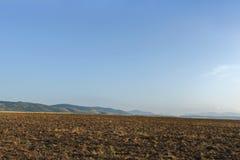 Valle en la Crimea Foto de archivo libre de regalías