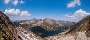 Valle en las montañas del Tatras Fotografía de archivo libre de regalías