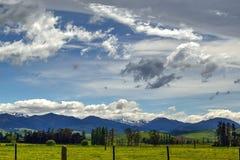 Valle en Nueva Zelanda Foto de archivo libre de regalías