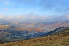 Valle en País de Gales Fotografía de archivo