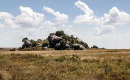 Valle en Tanzania Fotos de archivo libres de regalías