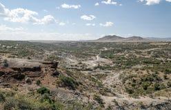 Valle en Tanzania Imágenes de archivo libres de regalías