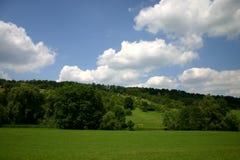 Valle en verano Imágenes de archivo libres de regalías