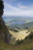 Valle escénico de la montaña Imágenes de archivo libres de regalías