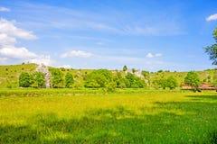 Valle Eselsburger Tal Fotografia Stock Libera da Diritti