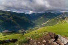 Valle eslovaco. Imagen de archivo