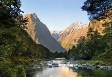 Valle espectacular de la montaña Imagen de archivo libre de regalías