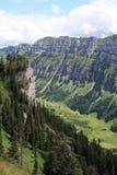 Valle estrecho profundo Foto de archivo
