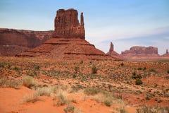 Valle famosa del monumento, canyon del deserto nell'Utah, U.S.A. Fotografia Stock