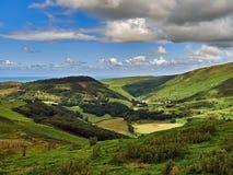 Valle feliz o Cwm Maethlon Foto de archivo libre de regalías