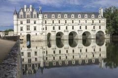Valle Francia de Loyre del castillo de Chenonceau imagenes de archivo