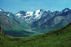 Valle glacial fotos de archivo libres de regalías
