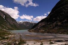 Valle glaciale Immagine Stock Libera da Diritti