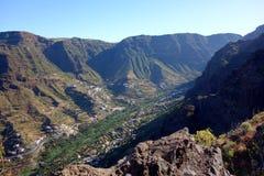 Valle Gran Rey стоковая фотография