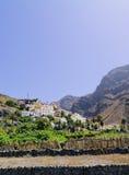 Valle Gran Rey on Gomera Royalty Free Stock Photo