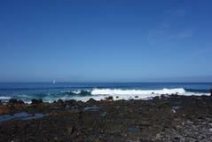 Valle Gran Rey-Küste Lizenzfreie Stockbilder