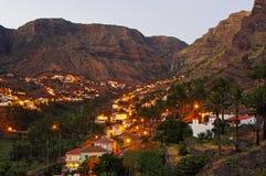 The Valle Gran Rey, La Gomera island. Royalty Free Stock Photos