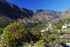 The Valle Gran Rey, La Gomera island. Stock Images