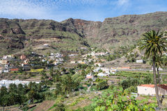 The Valle Gran Rey on La Gomera Royalty Free Stock Images
