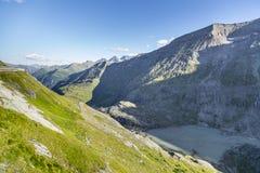 Valle hermoso de la montaña Fotografía de archivo