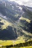 Valle hermoso de la montaña Imagen de archivo