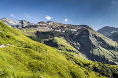 Valle hermoso de la montaña Foto de archivo