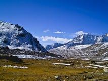 Valle Himalayan Imagenes de archivo