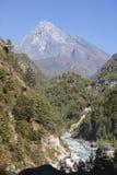 Valle himalayana immagine stock libera da diritti