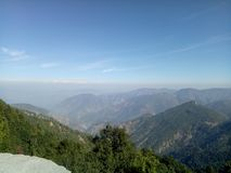 Valle himalayana fotografia stock