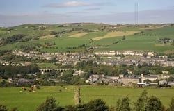 Valle Huddersfield de Colne Imagen de archivo libre de regalías