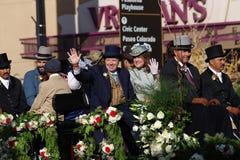 Valle Hunt Club Float a Rose Parade 2018 Immagini Stock Libere da Diritti