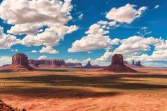 Valle iconica del monumento, Arizona Immagine Stock Libera da Diritti