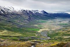 Valle in Islanda Fotografia Stock Libera da Diritti