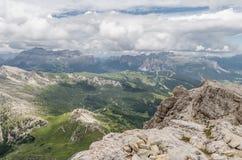 Valle italiana delle alpi, Italia Immagine Stock Libera da Diritti