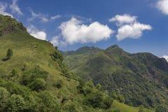 Valle italiana delle alpi-Valstrona Immagini Stock Libere da Diritti