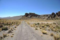 Valle Kala-Kala la ciudad de Oruro Fotos de archivo libres de regalías