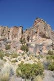 Valle Kala-Kala la ciudad de Oruro Imágenes de archivo libres de regalías