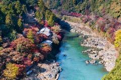 Valle a Kyoto immagine stock