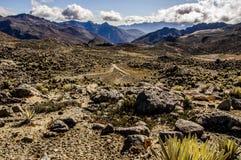 Valle La Toma Arkivbilder