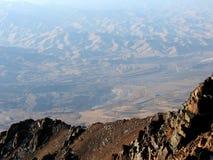 Valle lejano Foto de archivo