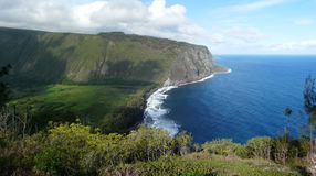 Valle maestosa di Waipio, Hawai Fotografie Stock