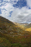 Valle meravigliosa in Italia del Nord Fotografie Stock
