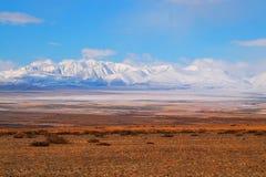 Valle mongola Fotografie Stock Libere da Diritti