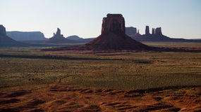 Valle monumentale del monumento Fotografie Stock
