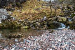 Valle nascosta Scozia fotografia stock libera da diritti