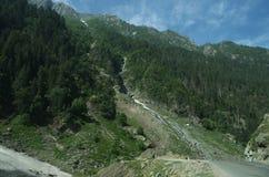 Valle nel Kashmir Fotografie Stock Libere da Diritti
