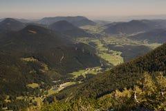 Valle nell'ambito dello schneeberg Immagini Stock Libere da Diritti
