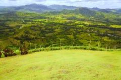 Valle nelle montagne Fotografie Stock
