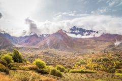 Valle nepalese Fotografia Stock