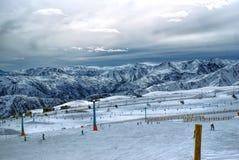 Valle Nevado Image stock